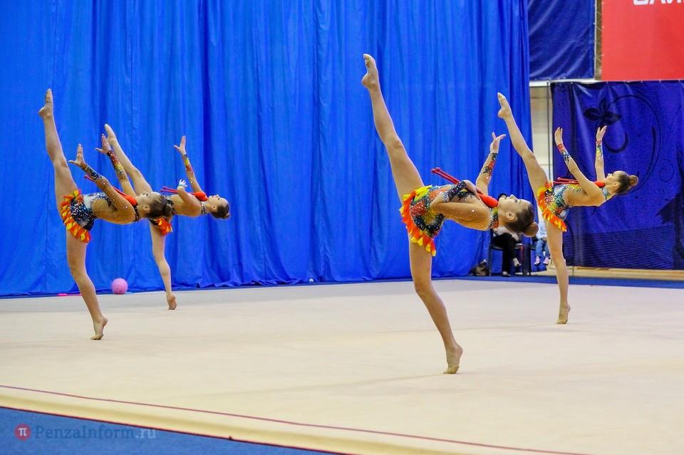Гимнастка из пензы победила на всероссийском турнире на призы общества динамо